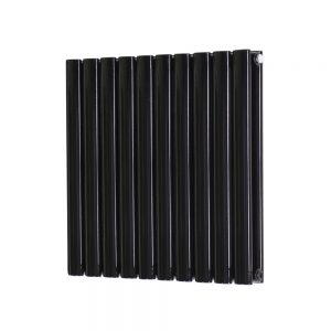Oval Panel Horizontal – Black
