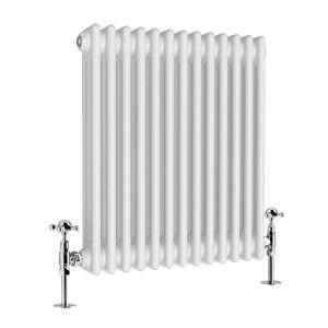 Column Radiator Horizontal – White